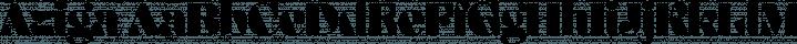 Aziga font family by Schizotype Fonts
