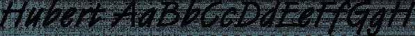 Hubert font family by SoftMaker