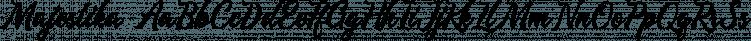 Majestika font family by Letterhend Studio