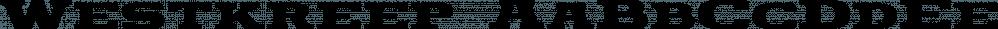 Westkreep font family by Pedro Teixeira