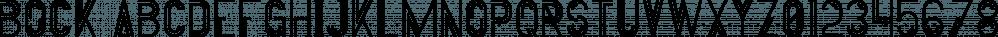 Bock font family by VPcreativeshop