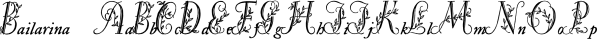 Bailarina font family by Intellecta Design