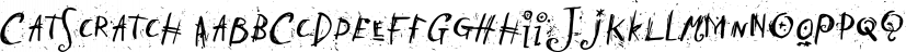 CatScratch font family by Fonthead Design