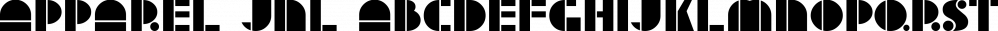 Apparel JNL font family by Jeff Levine Fonts