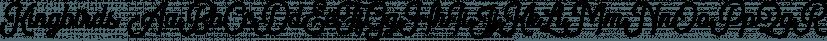 Kingbirds font family by Letterhend Studio