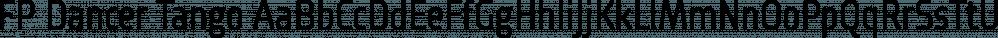 FP Dancer Tango font family by Fontpartners