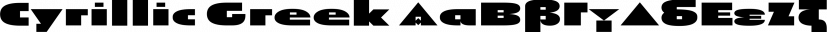 Pivnaya Cyrillic Greek font family by RomanType