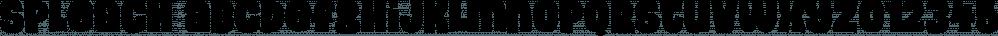 Spleach font family by Pizzadude.dk