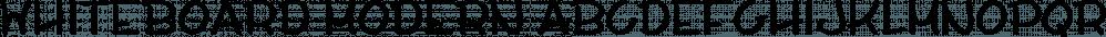 Whiteboard Modern font family by Albatross