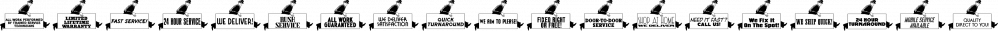 Service Men JNL font family by Jeff Levine Fonts
