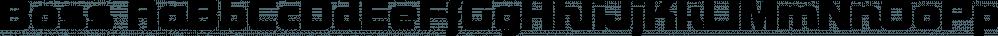 Boss font family by SoftMaker