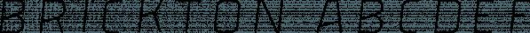 Brickton font family by Great Scott