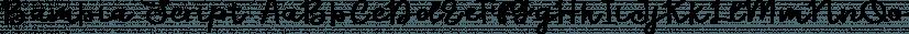 Bambia Script font family by Genesislab