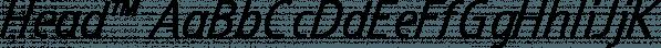 Head™ font family by MINDCANDY