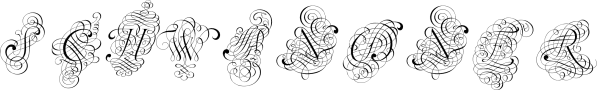 SchwandnerVersalia font family by Intellecta Design