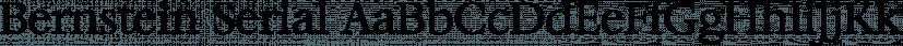 Bernstein Serial font family by SoftMaker