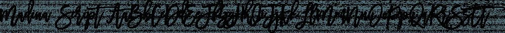 Madina Script font family by Set Sail Studios