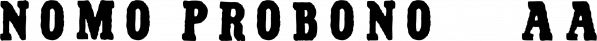 Nomo Probono™ font family by MINDCANDY