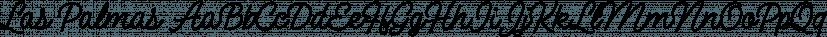 Las Palmas font family by Fenotype