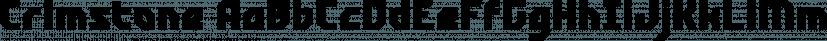 Crimstone font family by Locomotype