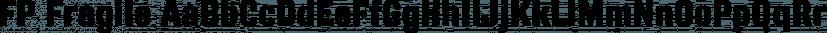 FP Fragile font family by Fontpartners