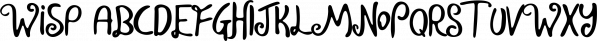 Wisp font family by Tugcu Design Co