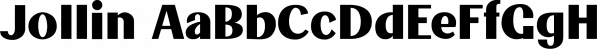 Jollin font family by Creative Media Lab