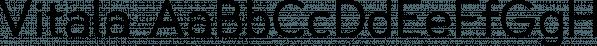 Vitala font family by Parker Creative