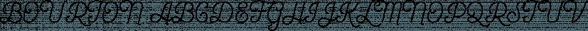 Bourton font family by Kimmy Design