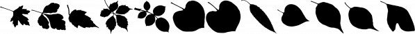 MoreLeaves font family by Ingrimayne Type