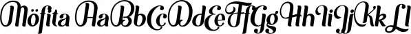 Möfita font family by Alit Design