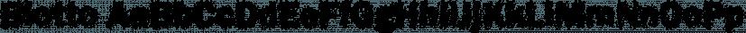 Blotto font family by FontSite Inc.