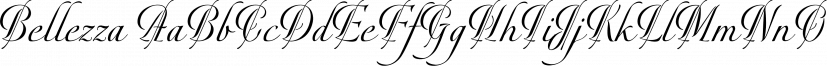 Bellezza font family by Wilton Foundry