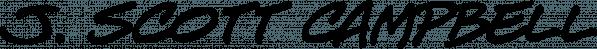 J. Scott Campbell Sketchbook font family by Comicraft