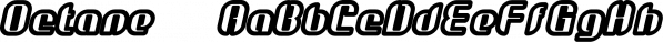 Octane™ font family by MINDCANDY