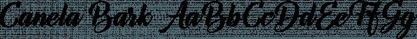 Canela Bark font family by Måns Grebäck