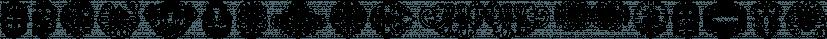 George Bickham Soft Ornaments font family by Intellecta Design