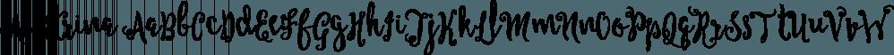 Alastrina font family by Area Type Studio