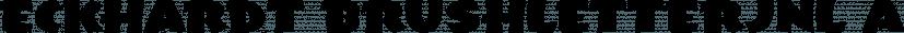 Eckhardt BrushletterJNL font family by Jeff Levine Fonts