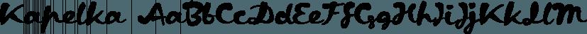 Kapelka font family by ParaType