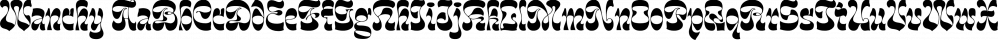 Wanchy font family by Herzberg Design