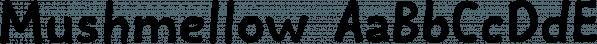 Mushmellow font family by Ingrimayne Type