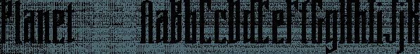 Planet™ font family by MINDCANDY