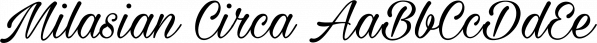 Milasian Circa font family by Mans Greback