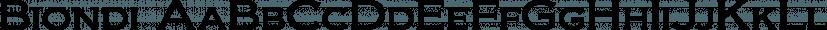 Biondi font family by Typodermic Fonts Inc.