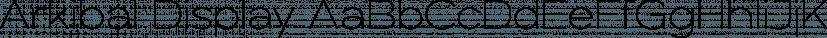 Arkibal Display font family by JC Design Studio
