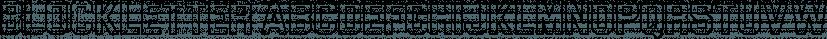 Blockletter 3D font family by Sharkshock