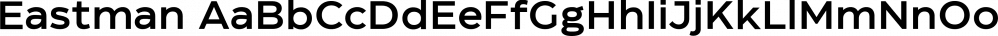 Eastman font family by Zetafonts