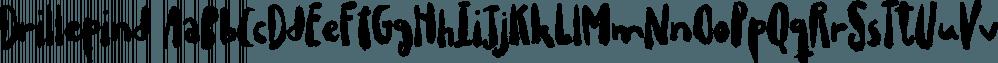 Drillepind font family by Bogstav