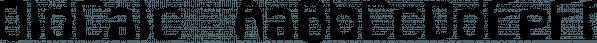 OldCalc™ font family by MINDCANDY